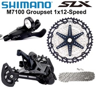 jk2.0+NEW SHIMANO DEORE SLX M7100 51T Groupset MTB Mountain Bike 1x12 22 Speed SL+RD+CS+HG M7100 shifter Rear Derailleur