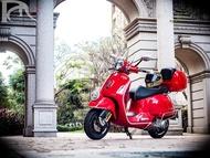 Vespa GTS300 ABS 鍛造框 紅色 復古文青 重機 Brembo 二手 非125 946 GTV 黃牌速可達