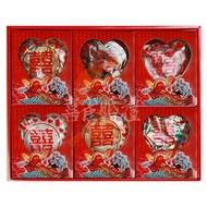 【喜雀婚禮用品】六色糖   禮香炮燭禮盒   六色糖加香燭炮禮盒   訂婚十二禮  🛇此項商品無法超商取貨