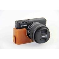 เคสกล้อง Canon EOS M10/M100 หนัง PU ️ส่งฟรี