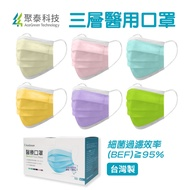 【聚泰科技】三層醫用口罩(50入/雙鋼印/多色可選/上市公司/醫療口罩)