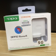 OPPO 125W(65W) Super Flash Charge Reno 4 Charger Mini (Adapter+Cable)