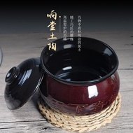 ♚Farm soil small crock pot stew water pot, cylinder jiangxi soup potted bowl package mail
