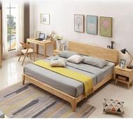 platform bed frame queen size