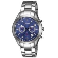 【LICORNE】力抗錶 撼動系列 經典工藝三眼手錶(銀/藍 LT138MWNI)