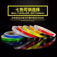 Bicycle Reflective Stickers Car Motorcycle Reflective Strips Stickers