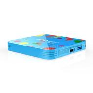 【H&D】H96 Mini Android 9.0 Smart TV Box 4K Media Player 6K HDR H.265 VP9 Allwinner H6 Quad-core 64 Bit 4GB DDR3 32GB/128G