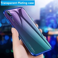 Transparent Plating case OPPO R11S Plus R11 R9S R9 Ultra thin soft TPU shining cases