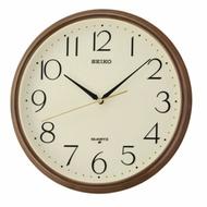Seiko 精工鐘 (QXA695B) 金色外框清新數字標準鐘/28*3.9cm