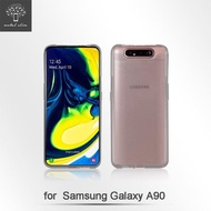 【Metal-Slim】Samsung Galaxy A90(時尚超薄TPU透明軟殼)