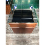 吉田二手傢俱❤珠寶展示櫃玻璃展示櫃