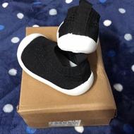 轉賣 寶寶襪型 學步鞋 (黑色14、15)