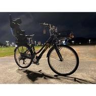 二手 捷安特電輔自行車 EA602 海軍藍使用約2年4個月