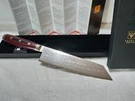 Yaxell龍 豪SG2高檔粉末鋼 161層大馬士革 8吋 Kiritsuki(劍形)多用塗主廚刀 非 紋 雙人牌 旬