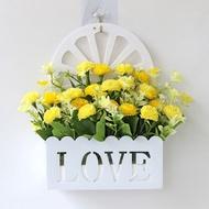 ●▬▩Bunga gantung dinding baru yang tertera di dinding set bunga buatan plastik hiasan hiasan bunga buatan rumah ruang pagar hiasan dinding keranjang gantung bunga