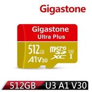 Gigastone microSDXC 512GB UHS-I U3 A1(V30) 記憶卡(附轉卡)