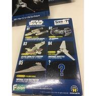 *高雄可面交* 日本帶回 星際大戰 Star wars F toys 無盒 內容物全新未使用 Y戰機 波巴菲特 驅逐艦