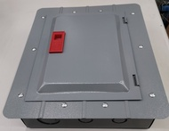 America Panel Board 4x4 8 holes Plug-in Panel Box 6 Branches for Plug in Breakers