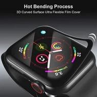 SoftสำหรับApple Watch SE Series 6ป้องกันหน้าจอ44มม.40มม.3Dป้องกันscratch ProtectorสำหรับApplewatch 5