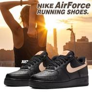 NIKE AIR FORCE 女款經典運動鞋 AF1 氣墊鞋 避震 慢跑鞋 D1@(5115039)