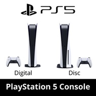 SONY Sony PlayStation 5 Console Digital Edition / Disc Edition / PS5 Gaming Console / Stunning Games
