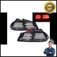 ไฟท้ายรถยนต์ ไฟท้าย ไฟท้ายแต่ง HONDA CIVIC FD 2006 2007 2008 2009 2010 2011 2012 โคมดำ ลาย BMW [Free Shipping]