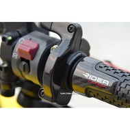 【LFM】RIDEA 高階款碳纖維握把 正卡夢 RacingS 雷霆S G6 VJR Many 雷霆王 ROMEO GP