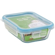 PYREX Snapware® 1109307 2cups@470ml  Rectangle Glass Food Storage Container With Plastic Lid by Snapware