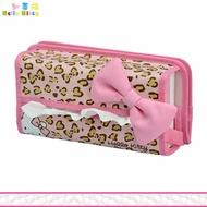 Hello Kitty 凱蒂貓 車用 大臉面紙盒套 面紙盒套 豹紋款 日本進口正版 864537