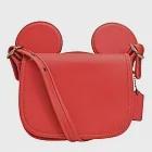 【COACH】迪士尼限量聯名款小牛皮米奇造型斜背包-紅(現貨+預購)紅