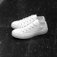 Converse 1970s 三星標 白色 全白 低筒 皮革 荔枝皮 復刻 70s 155455C