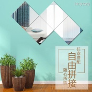 Mosaic Mirror Frameless Mirror Stickers Wall Mirror