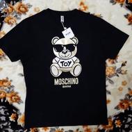 現貨 moschino 燙金墨鏡熊