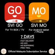 SVI GO SVI MO Official Malaysia Subscription IPTV SVIGO SVIMO TRIAL ANDROID