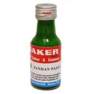 Pandan Baker Pasta Glass Essence Perisa Pandan Pasta