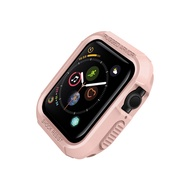 เกราะที่ทนทานฝาครอบป้องกันสำหรับแอปเปิ้ลดู 40 มม. 44mm แอปเปิ้ลดูกรณีชุด 4 5 Tpu นุ่มกันกระแทกกันชนป้องกัน=Rugged Armor Protective cover for apple watch 40mm 44mm apple watch case series 4 5 Tpu soft Shockproof Protector bumper