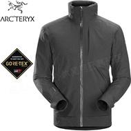 Arcteryx 始祖鳥 防水化纖外套/連帽雪衣/保暖夾克/GTX 防水透氣保暖/登山 Ames 男款18161 機長灰