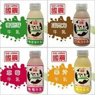 國農牛乳 四口味215ml(24入)