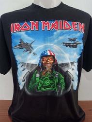 เสื้อยืด เสื้อวงดนตรี (((Official licensed Iron Maiden-Texas 2010))) ลิขสิทธิ์แท้ สภาพ DeadStock