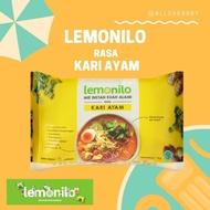 Lemonilo Mie Kari ayam instan Mie Sehat Vegetarian Mie Organik Mie Halal Mie Instan