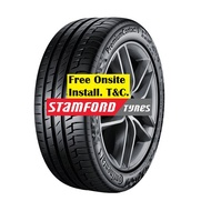 """CONTINENTAL PremiumContact 6 15"""" 16"""" Tyres 185/65R15 195/65R15 205/45R16 205/55R16 205/60R16"""