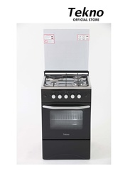 Tekno Range TGR3150GSB ( 3 Gas 1 Electric hotplate, Gas Oven, Gas Grill with Safety Device)