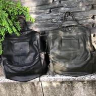 韓國🇰🇷空運~💜韓國牛皮三用後背包~👍牛皮後背包~真皮包~斜背包~💜質感超好~現貨➕預購$3180