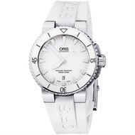 ORIS 豪利時 Aquis 時間之海專業潛水機械手錶 0173376534156-0742631EB 白 44mm