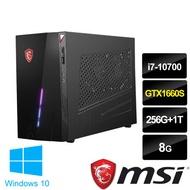 msi微星 MAG Infinite S 10SI-047TW電競桌機(i7-10700/8G/256G+1T/GTX1660Super-6G/WIN10)