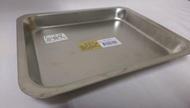 【八八八】e網購~【 台灣製造 304不銹鋼特小長方盤(淺)】 水果盤 敬果盤 小菜盤 不鏽鋼長方盤