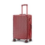 อลูมิเนียมกระเป๋าเดินทางกระเป๋าเดินทางธุรกิจกระเป๋าลากบนล้อ20''24''28Inch แฟชั่นคุณภาพสูง Suitcaes