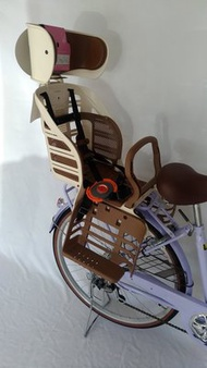 日本OGK腳踏自行車兒童後座椅  自行車兒童座椅 腳踏車兒童座椅 親子車兒童座椅