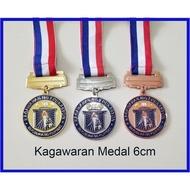 ¤﹊⊙Kagawaran Medal 6cm Gold Silver Bronze