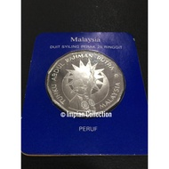 Silver Proof Coin 25 Ringgit 25th Ann of Independence